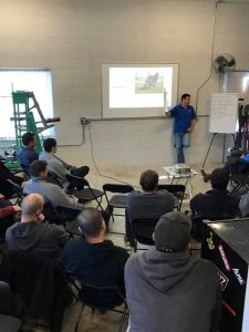 Velocity Calibrations teaching a suspension seminar